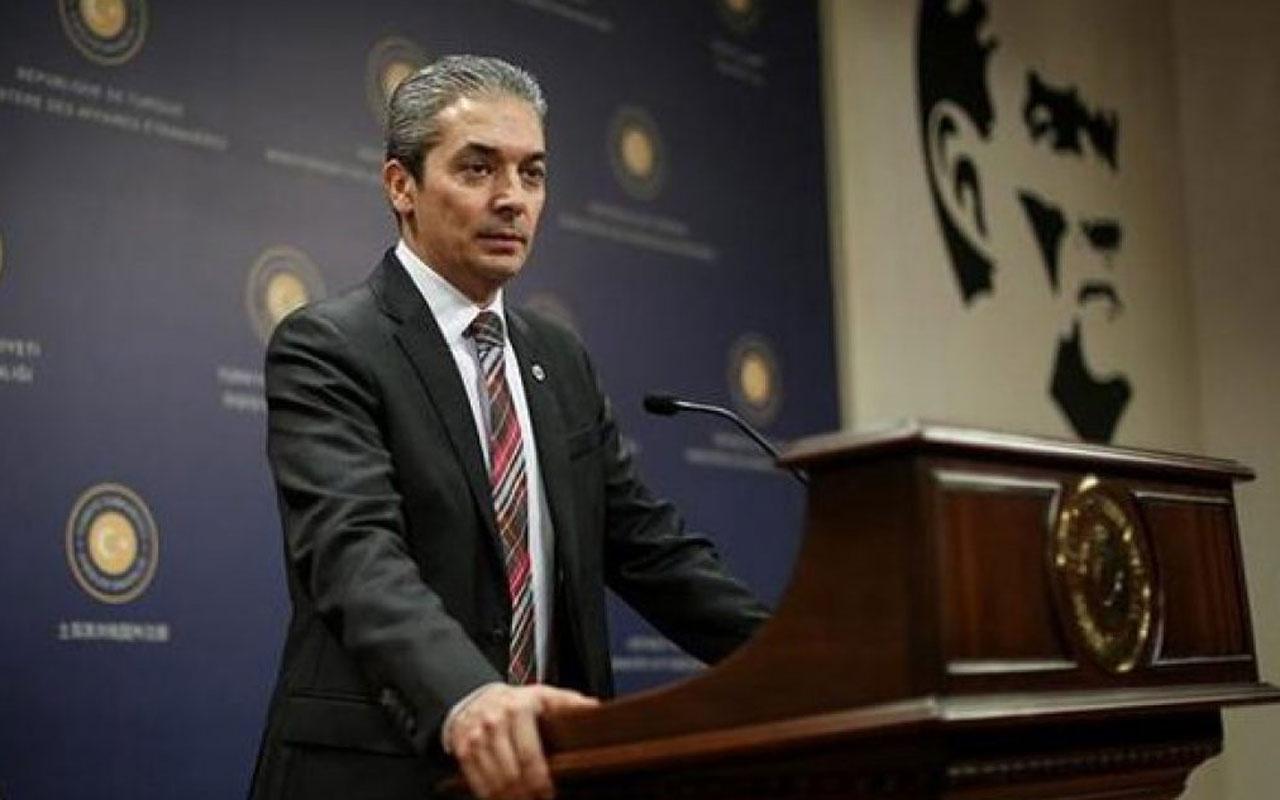 Yunanistan'ın garip iddiasına Dışişleri'nden açıklama