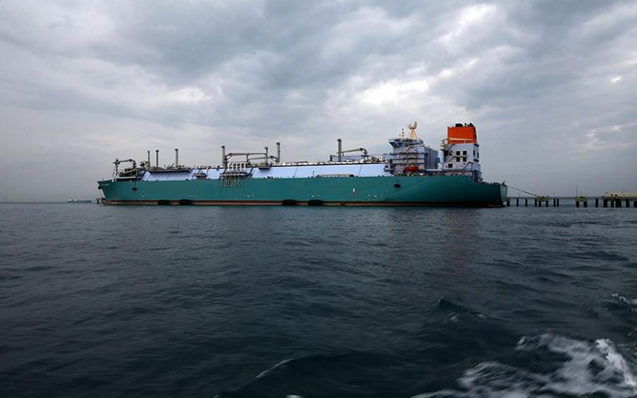 Türkiye'nin üçüncü büyük LNG depolama gemisi gelecek yıl devreye alınacak