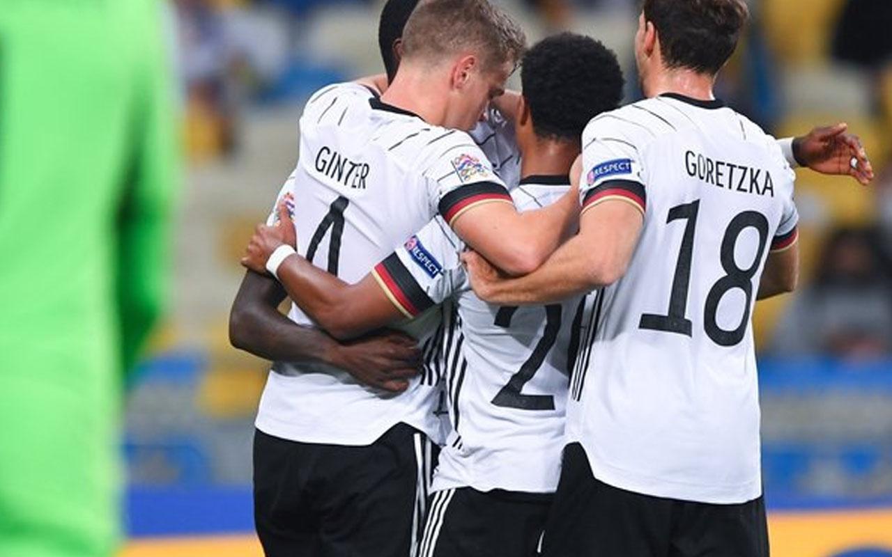 UEFA Uluslar Ligi A Grubu'nda Almanya ve İspanya'nın yüzü güldü