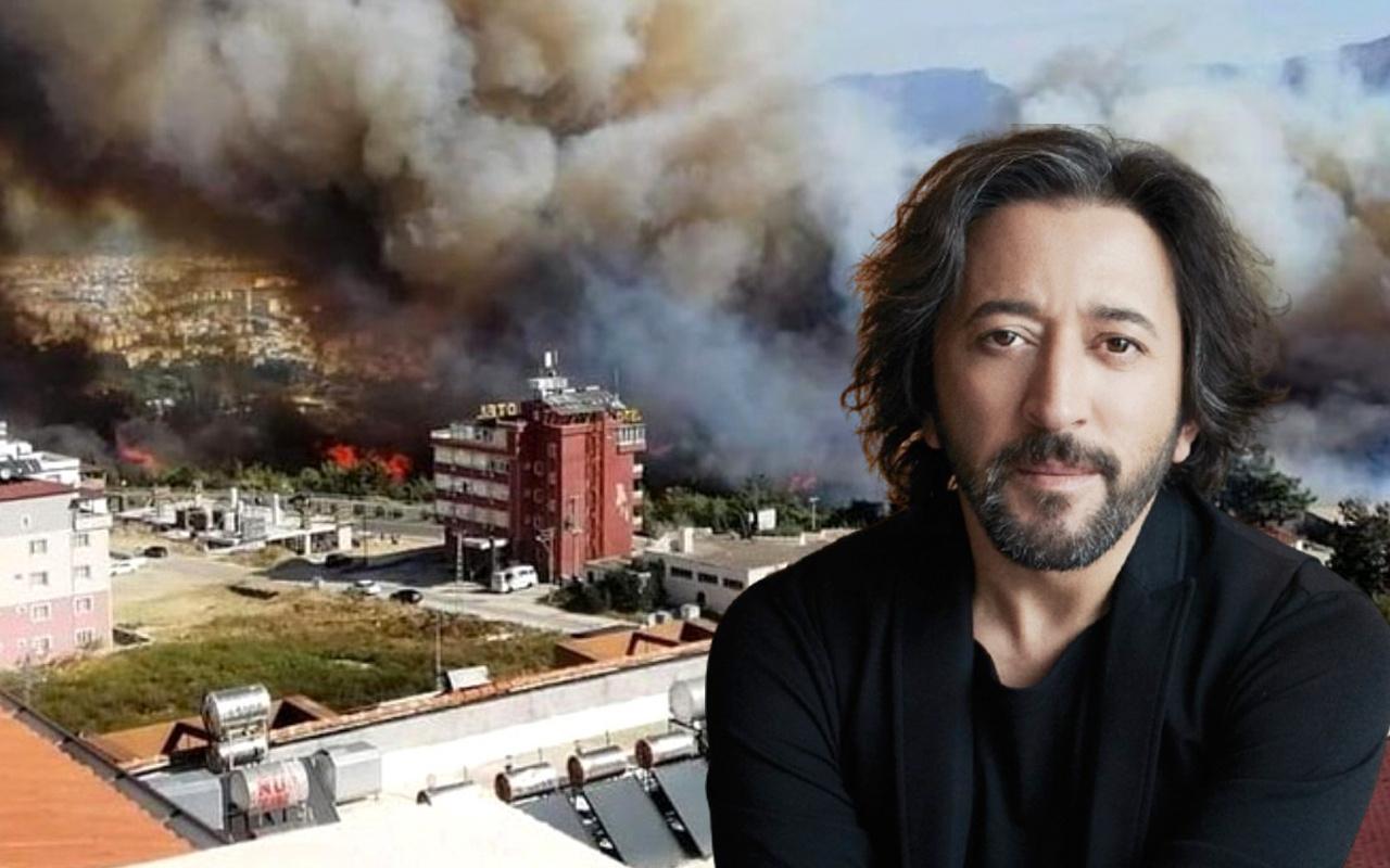 Ünlülerden PKK'ya Hatay yangını tepkisi Fettah Can fena patladı küfür bile etti