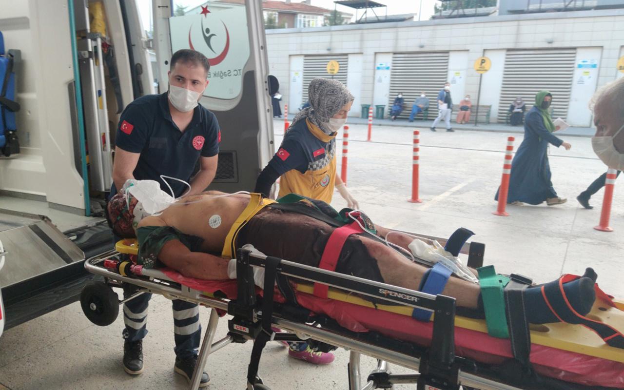 Bursa'da 5 saat boyunca haber alınamadı! Ormanda kanlar içinde bulundu