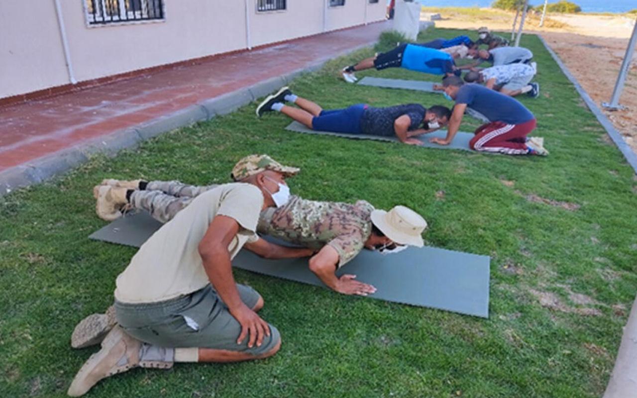 MSB 120 Libyalı askere eğitim verilmeye başlandığını duyurdu