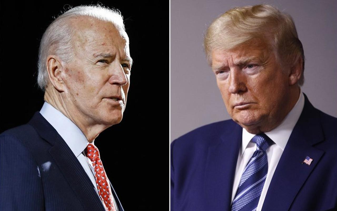 Bağışlarda kim öne geçti Trump Biden yarışı kızıştı