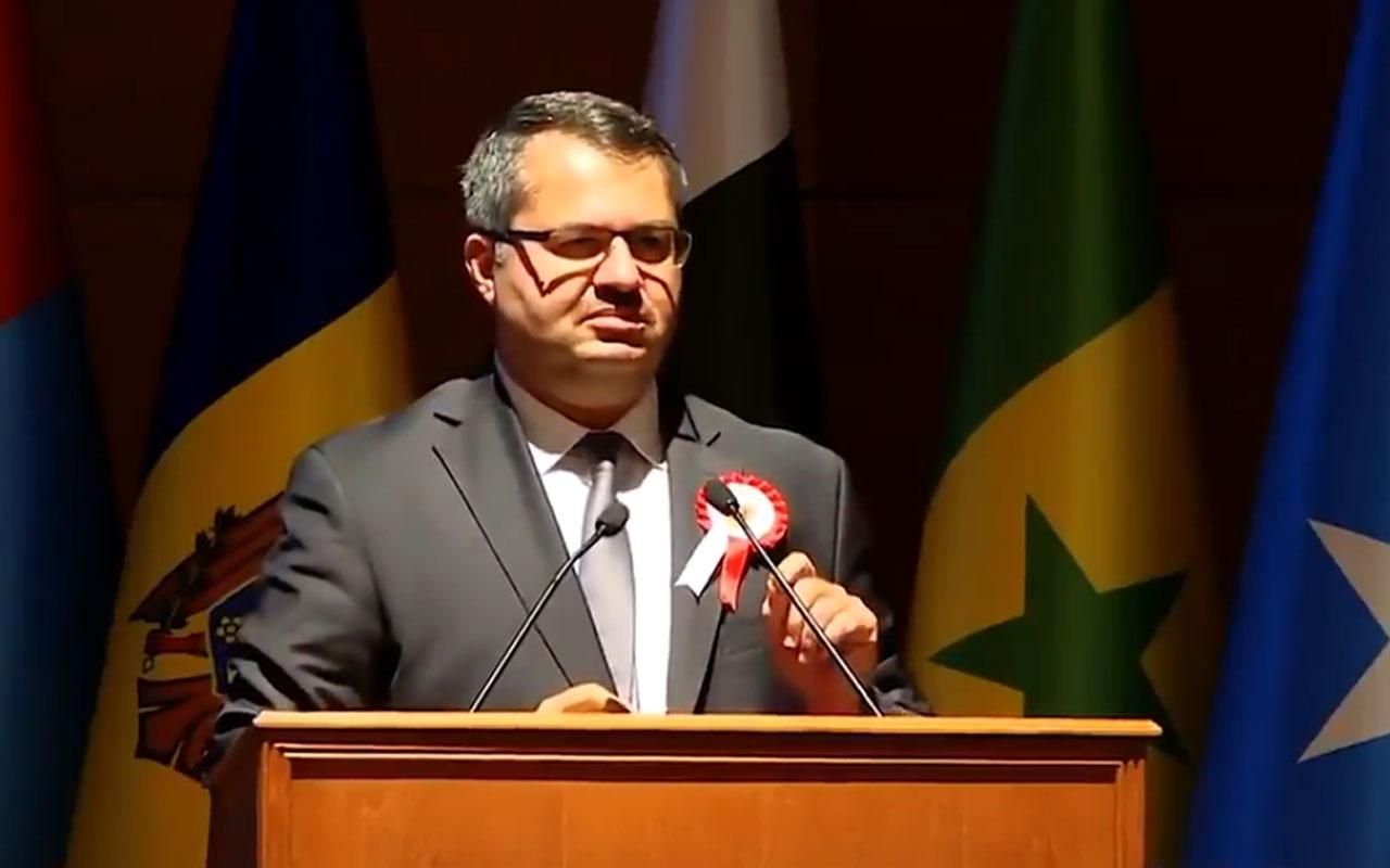 Azerbaycan Büyükelçisi İbrahim'den yürek titreten Türkiye konuşması