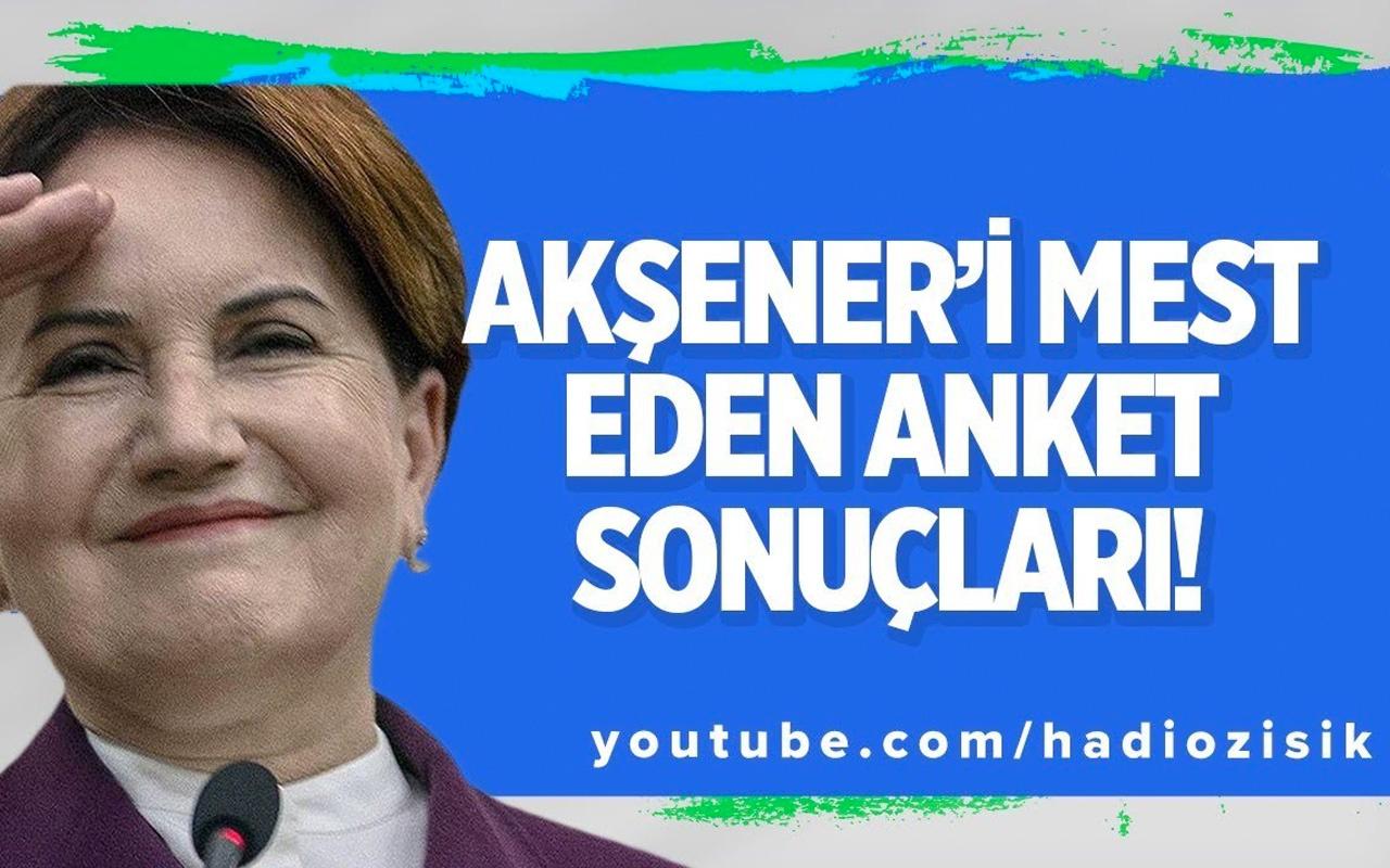 Meral Akşener'in yüzünü güldüren anket sonuçları!