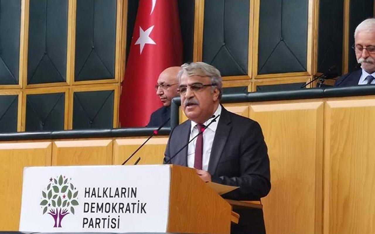 HDP'li Mithat Sancar'dan Bahçeli'ye 'kapatma' tepkisi