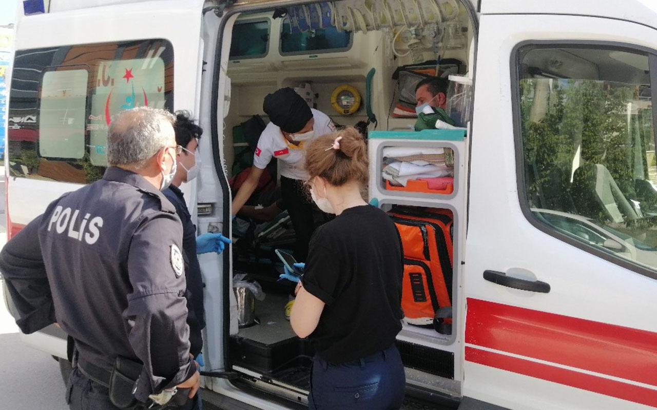 Kocaeli'de polis memuru, dükkanından çıkaramadığı kiracılarını silahıyla darp etti