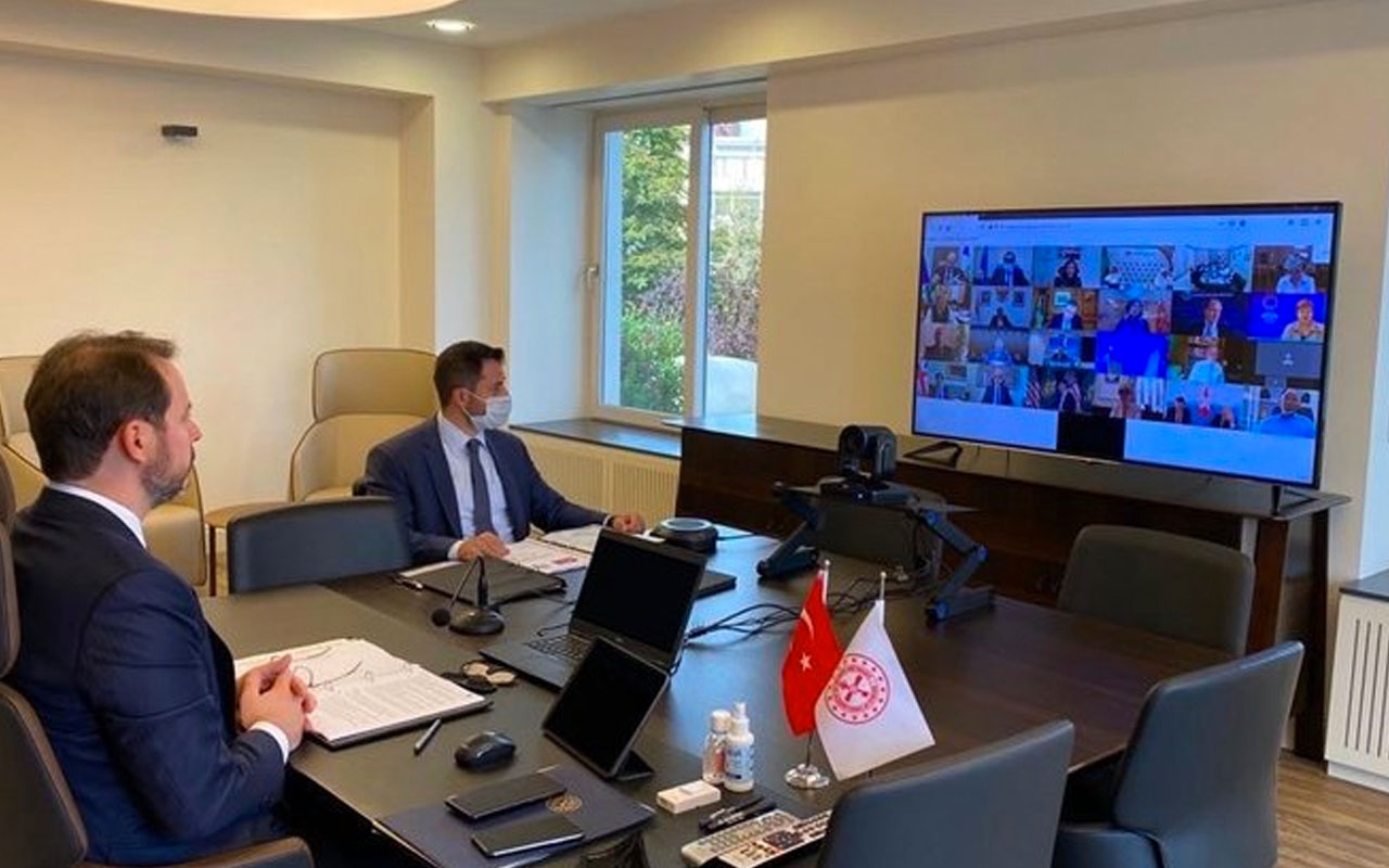 Bakan Albayrak'tan G-20toplantısının ardından önemli açıklamalar