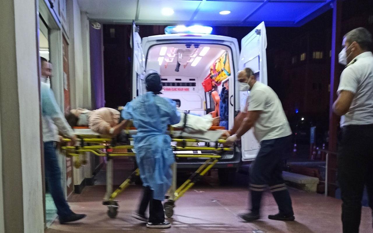 Samsun'da balkondan düşen kız ağır yaralandı