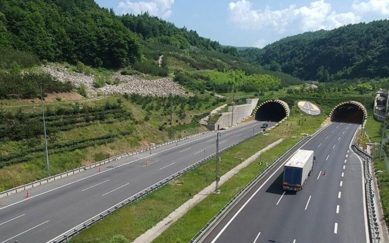 Bolu Dağı tüneli Ankara istikameti 32 gün kapalı D100 kullanılacak