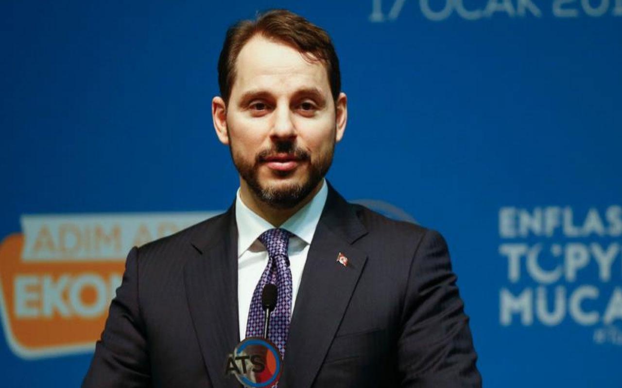 Hazine ve Maliye Bakanı Berat Albayrak'tan İzmir'deki depreme ilişkin açıklama
