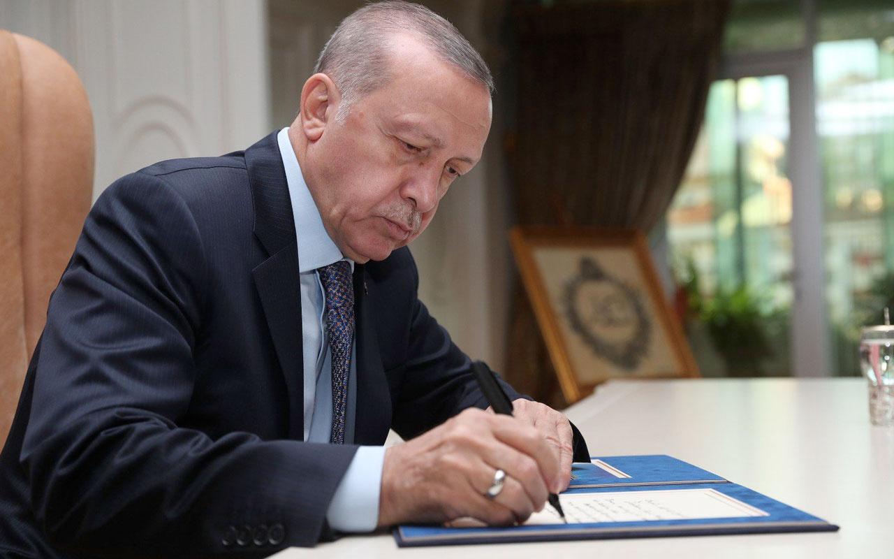 Cumhurbaşkanı Erdoğan'dan önemli atamalar! Kararlar Resmi Gazete'de