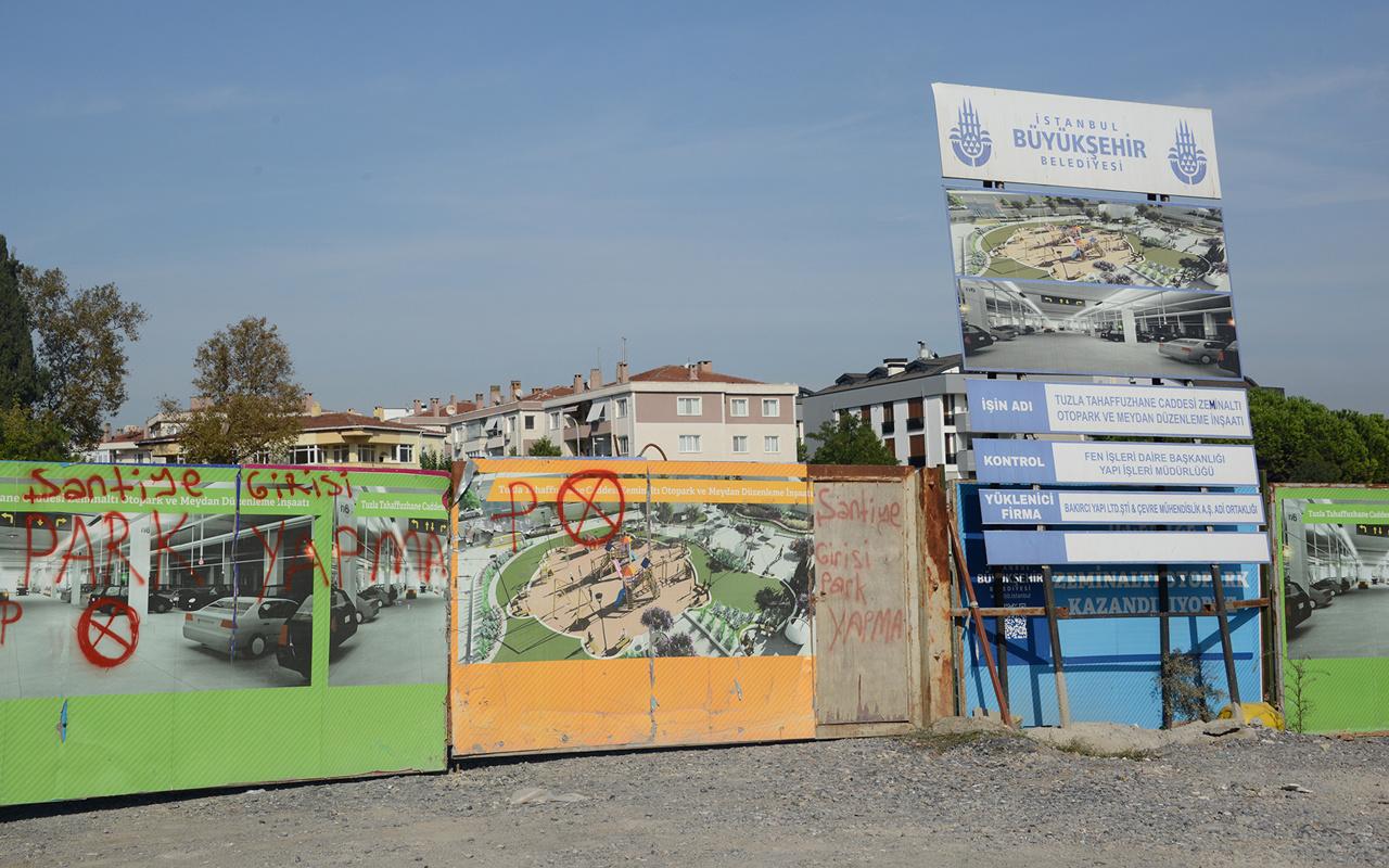 Tuzla Belediye Başkanı Şadi Yazıcı: İBB, Tuzla sahilindeki otoparkı 18 aydır bitiremedi