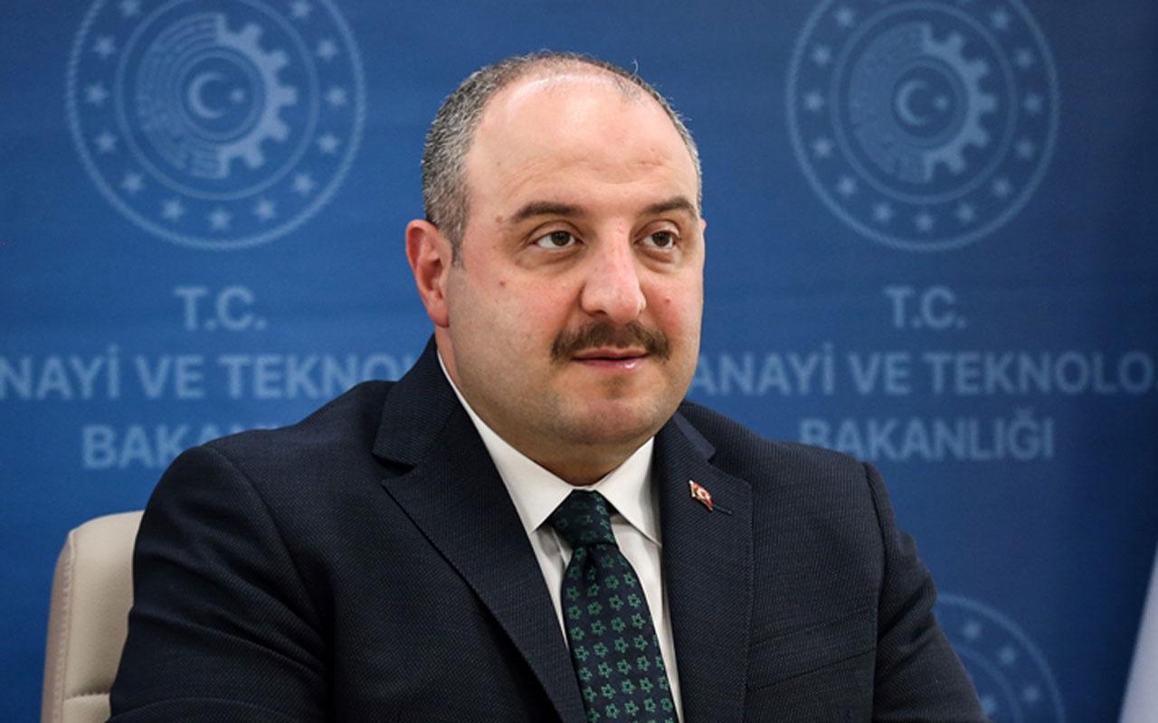 Türk sanayine güç katacak tarihi adım atıldı Bakan Mustafa Varank açıkladı