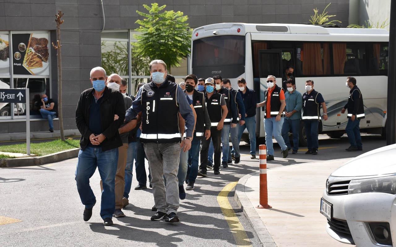 Manisa merkezli 7 ilde ByLock operasyonu: Eski emniyet personeli 16 kişiye gözaltı