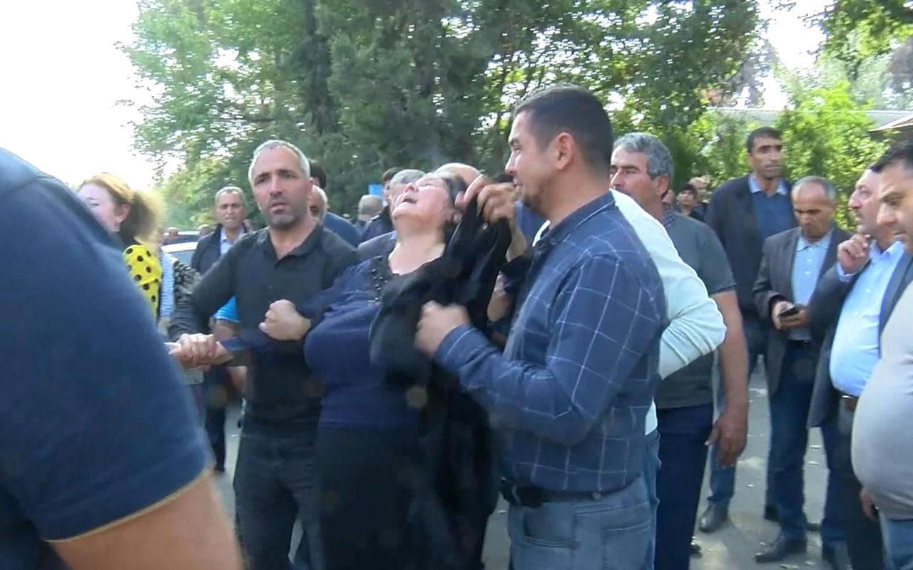 Ermenistan Terter'de defin sırasında mezarlığı vurdu: 3 ölü, 5 yaralı