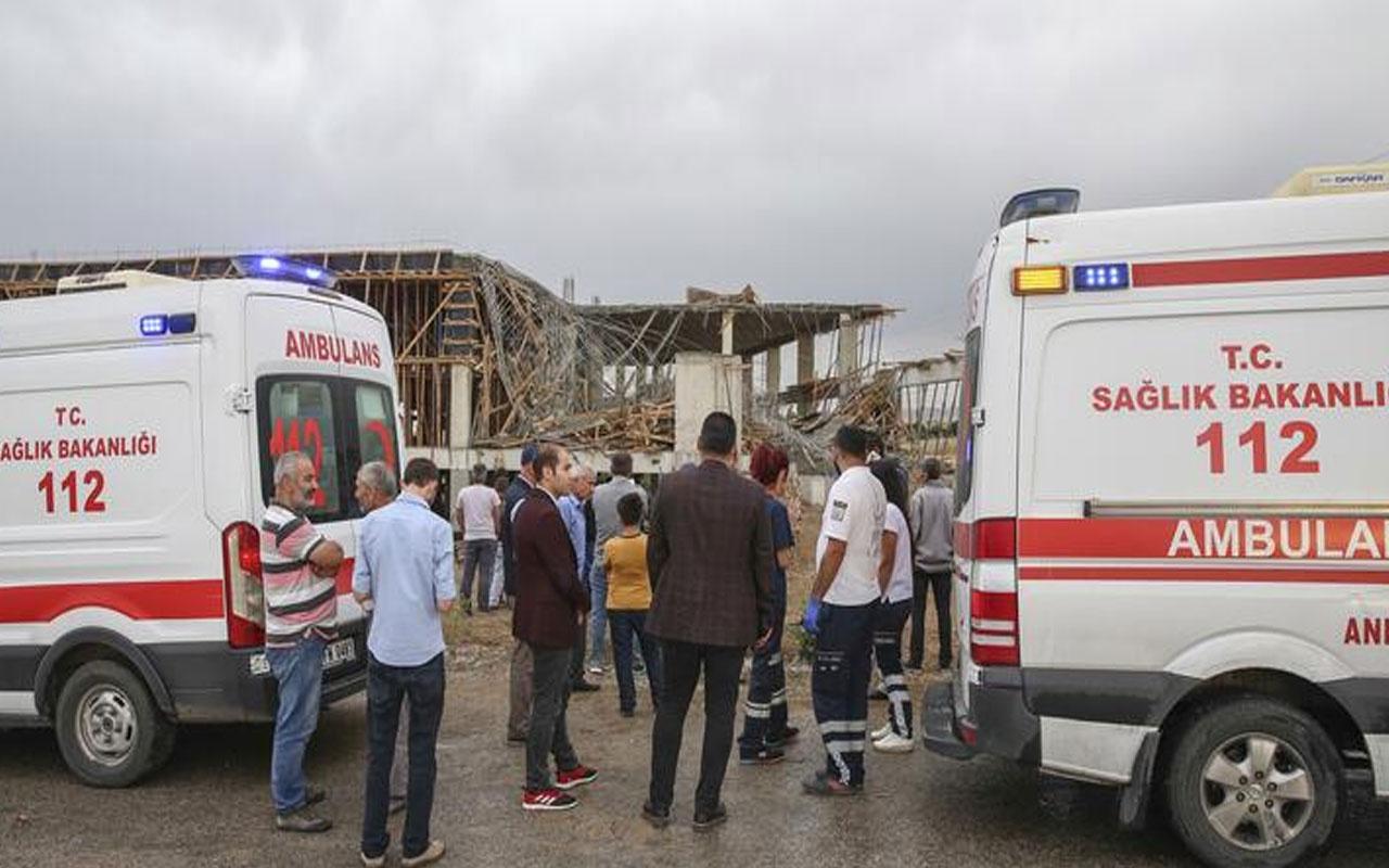 Ankara'da feci olay! Su kanalı kazısında göçük meydana geldi 1 kişi öldü