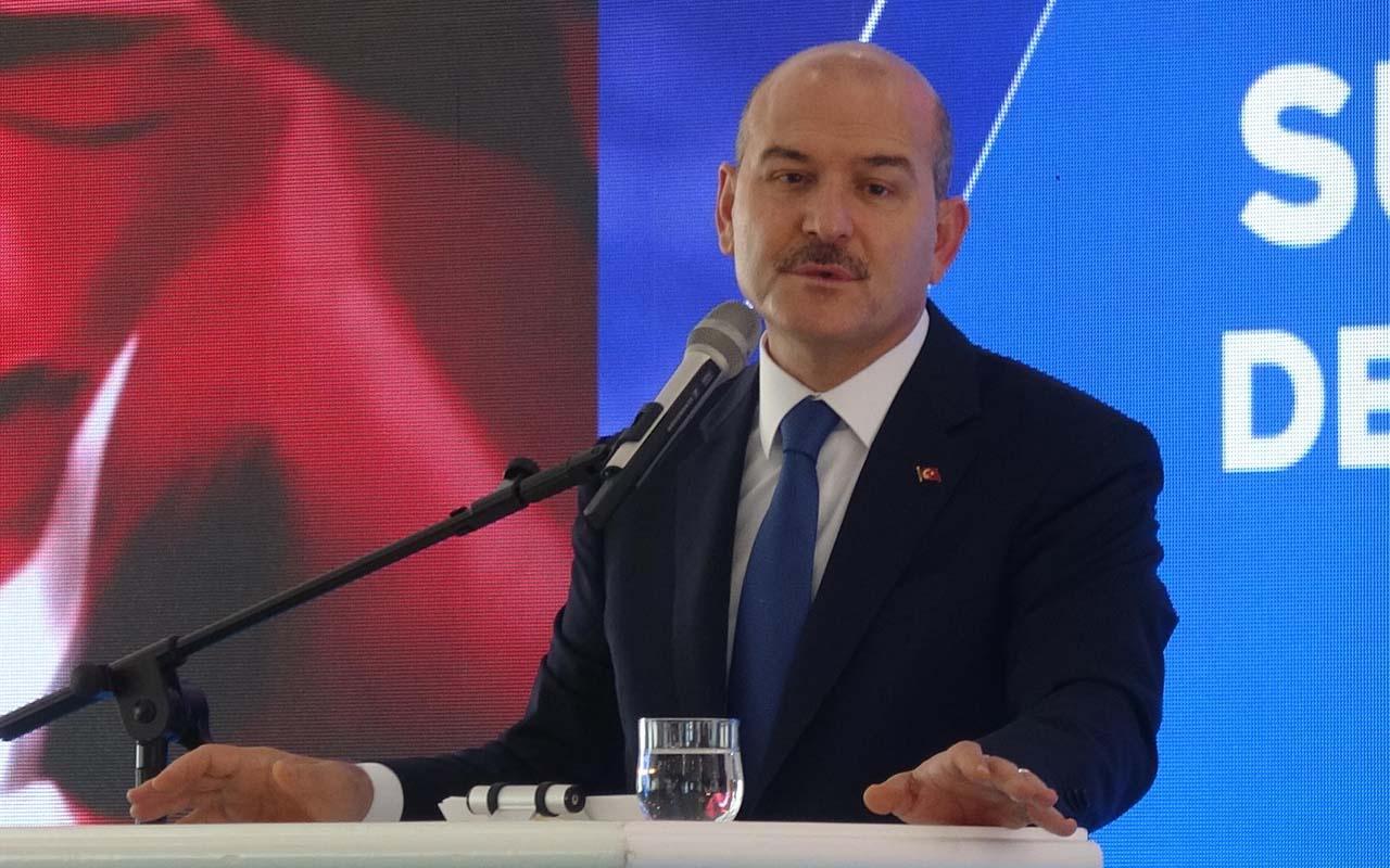 İçişleri Bakanı Süleyman Soylu: Avrupa ve Amerika 3 maymunu oynuyor