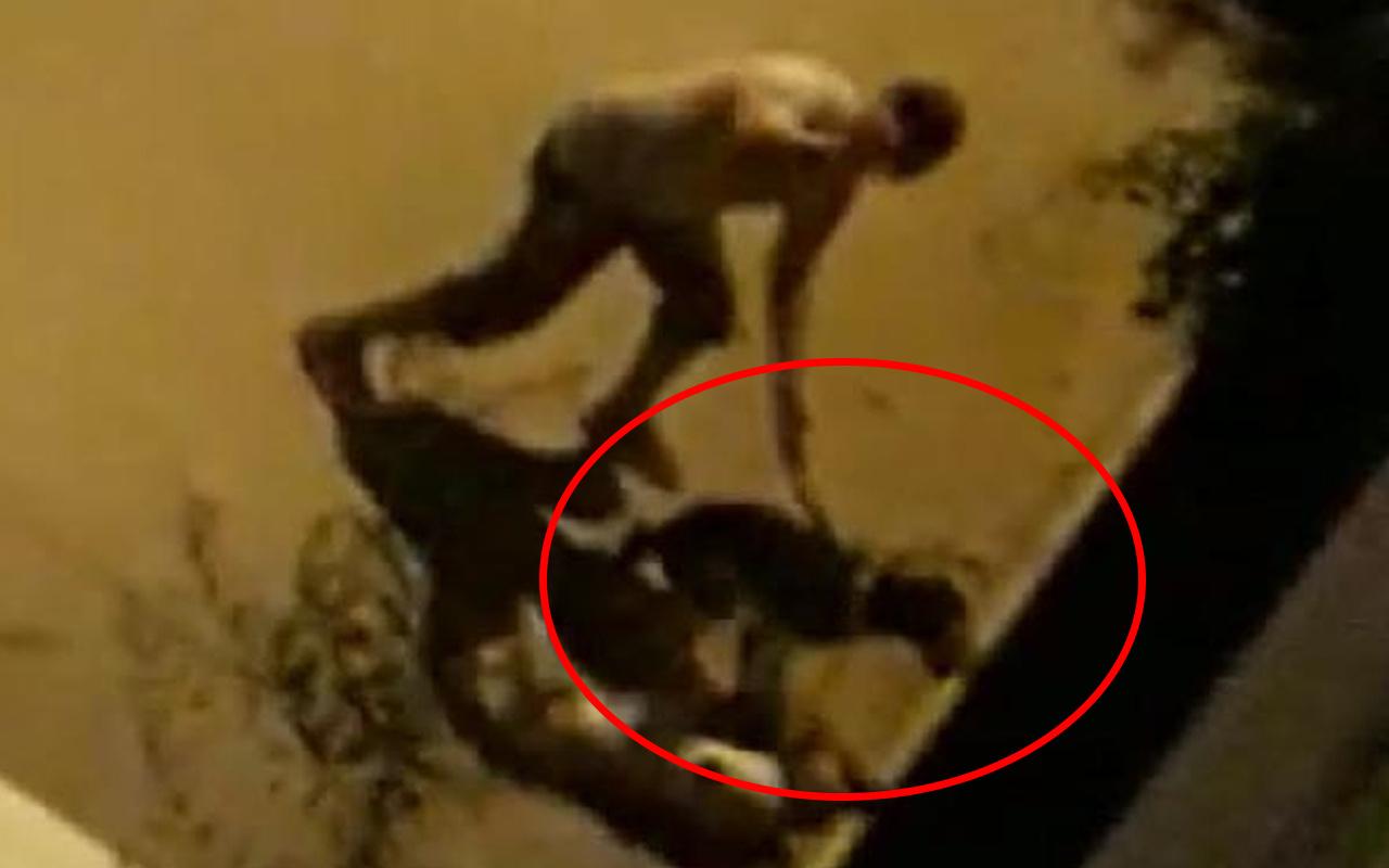 İzmir'de sokak ortasında vahşet! Doğalgaz borusuyla dövdü