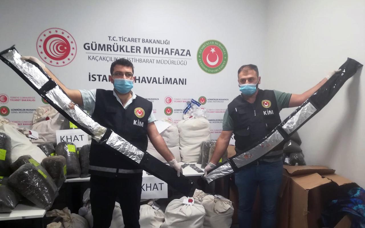 İstanbul Havalimanı'nda ele geçirildi değeri tam 24 milyon TL