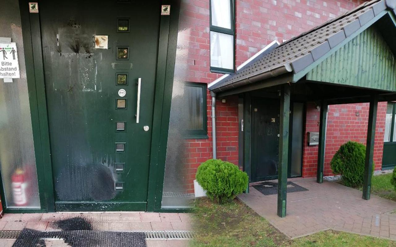 Almanya'da camiye çirkin saldırı! Sabah namazında fark ettiler