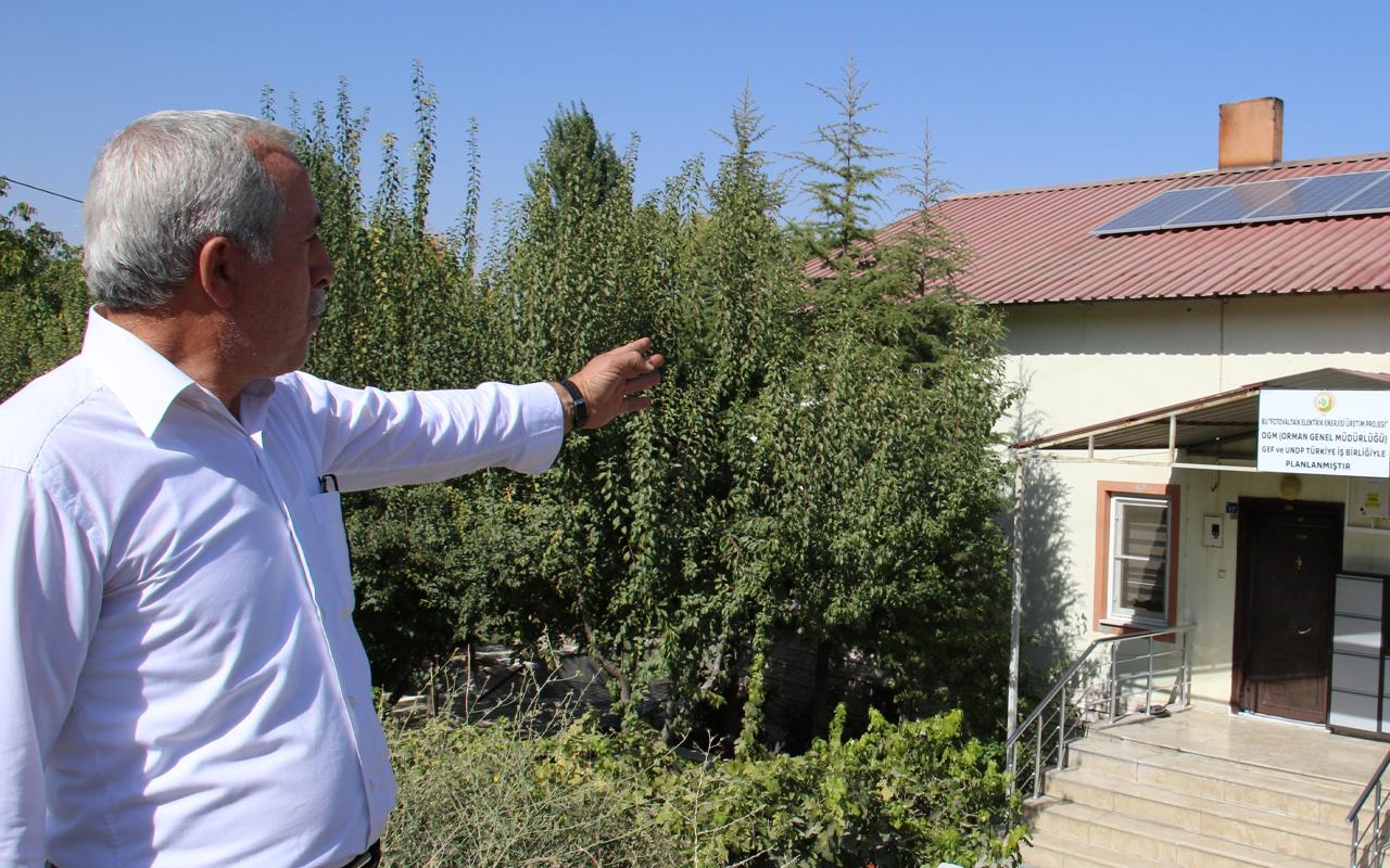 Elazığ'da kurdukları sistemle elektrikleri ücretsiz olacak