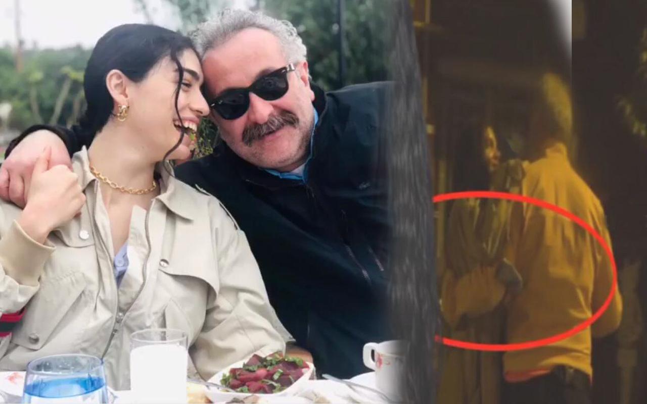 Hazar Ergüçlü'nün sevgilisi Onur Ünlü başka bir kadınla sarmaş dolaş! Fena yakalandı