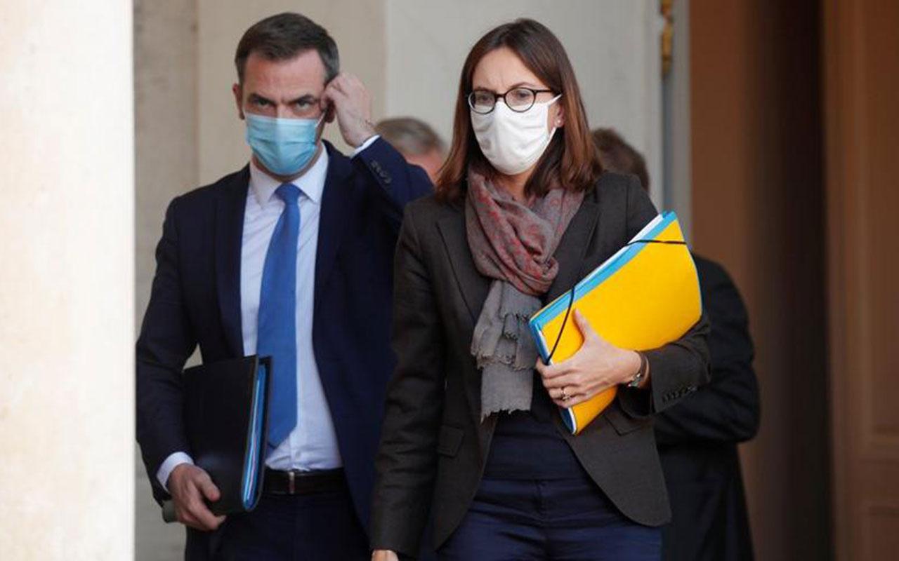 Sağlık Bakanı'nın evine 'koronavirüs salgınını iyi yönetemedin baskını! Fransa karıştı