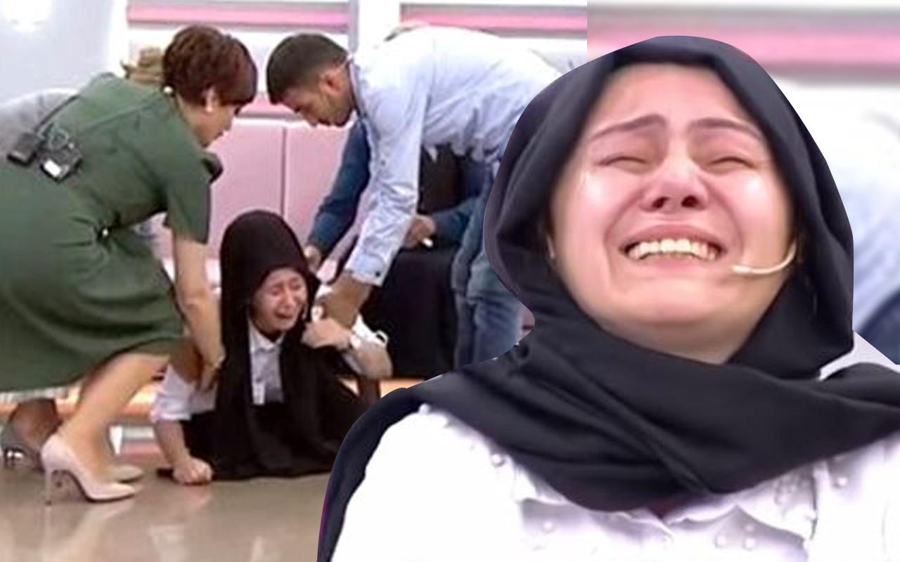 Didem Arslan'ın Show TV'deki programında canlı yayında sinir krizi