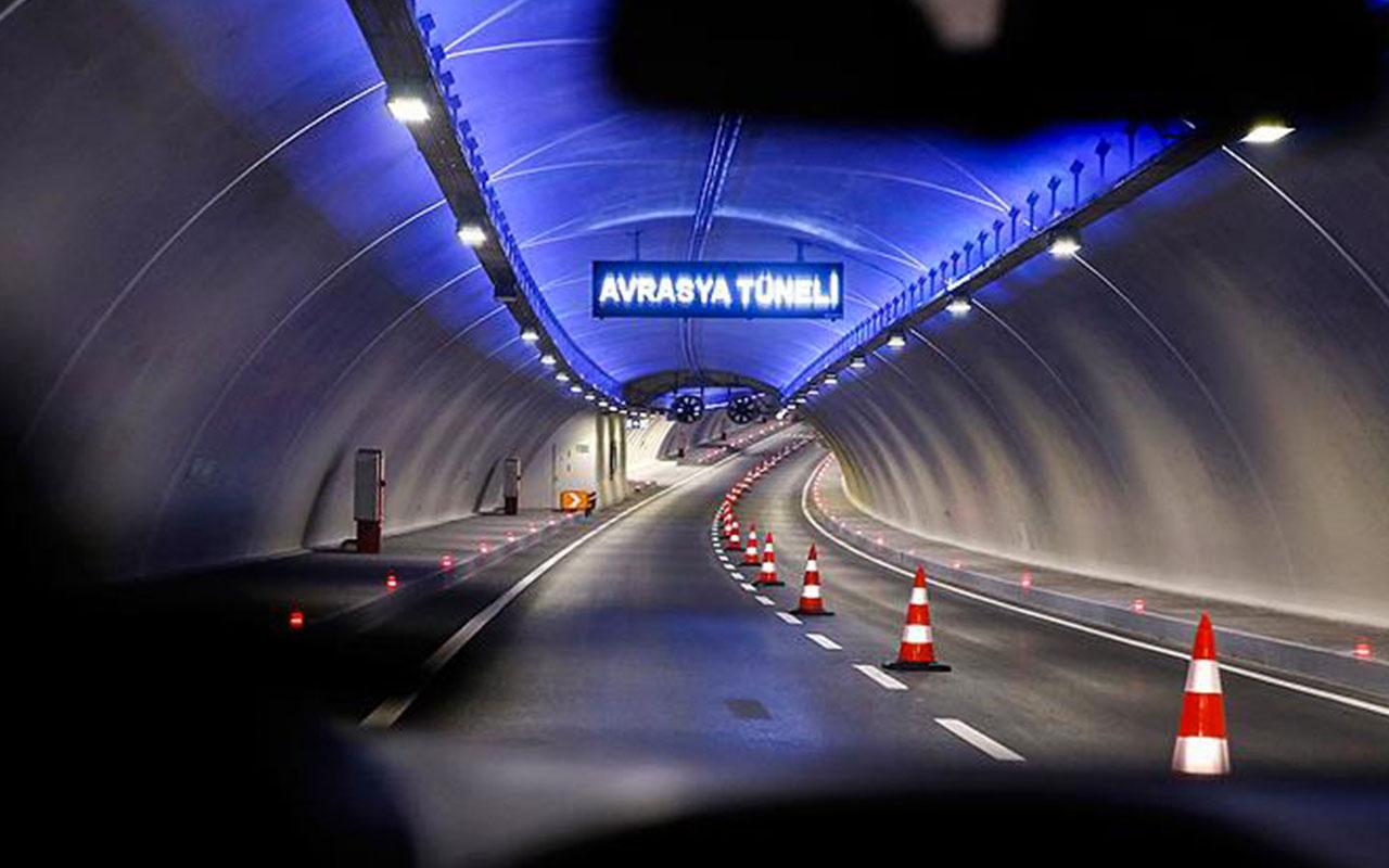 Avrasya Tüneli bakım için trafiğe kapatıldı