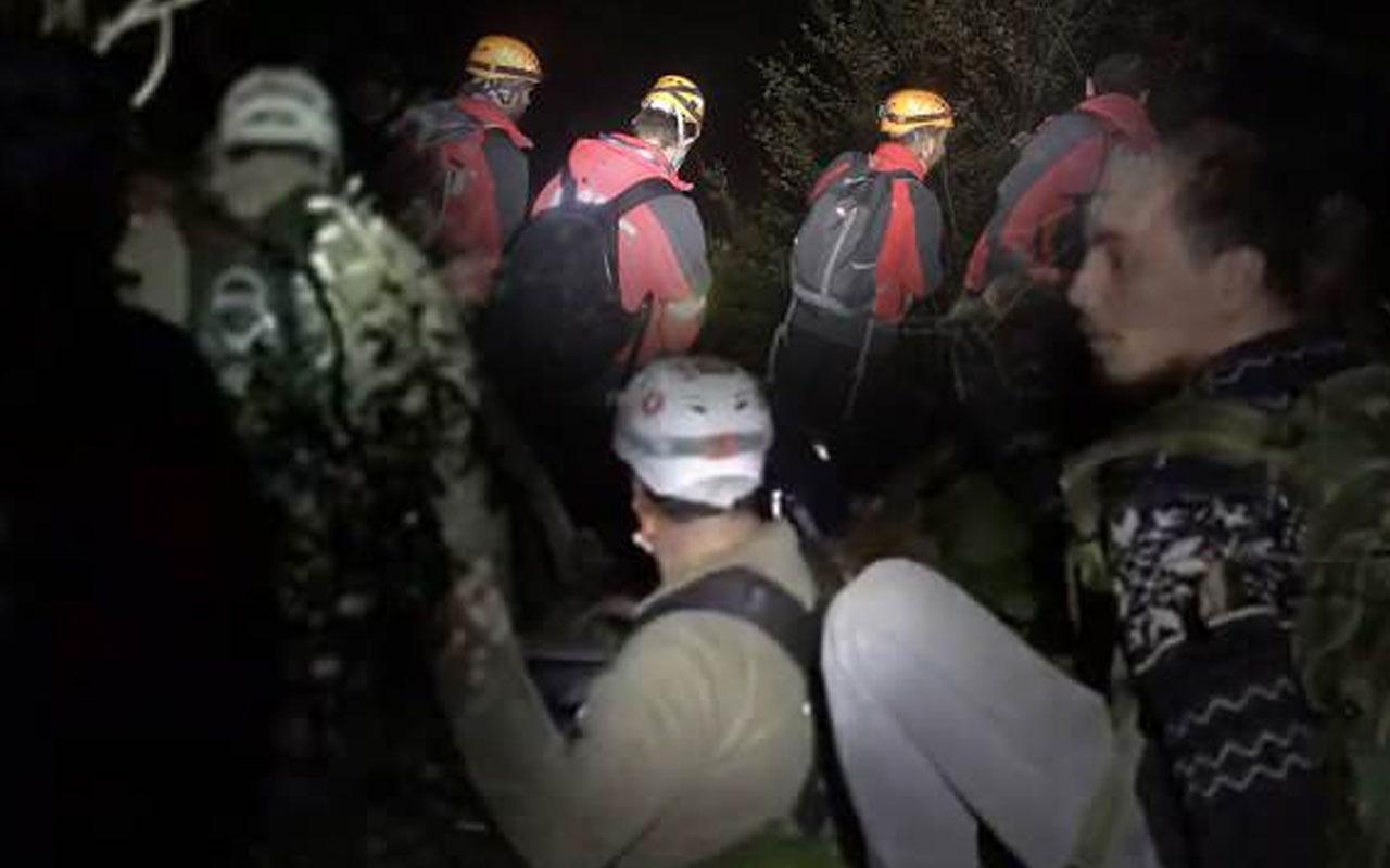 Bursa Uludağ'da kaybolan 4 kişi kurtarıldı