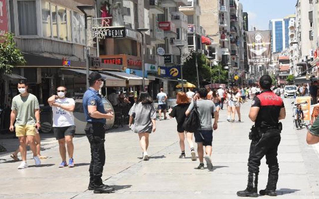 """Kırklareli'nde yaşandı! Maskeyi düzgün takmasını isteyen polise """"Vebalı değilim"""" yanıtı"""