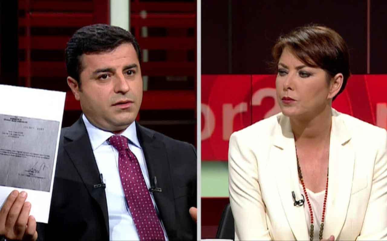 Selahattin Demirtaş, Şirin Payzın'a konuştu: Erdoğan benden korktuğu için cezaevinde tutuyor