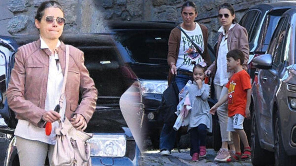 Özgü Namal eşi Serdar Oral'ın ölümünün ardından perişan halde