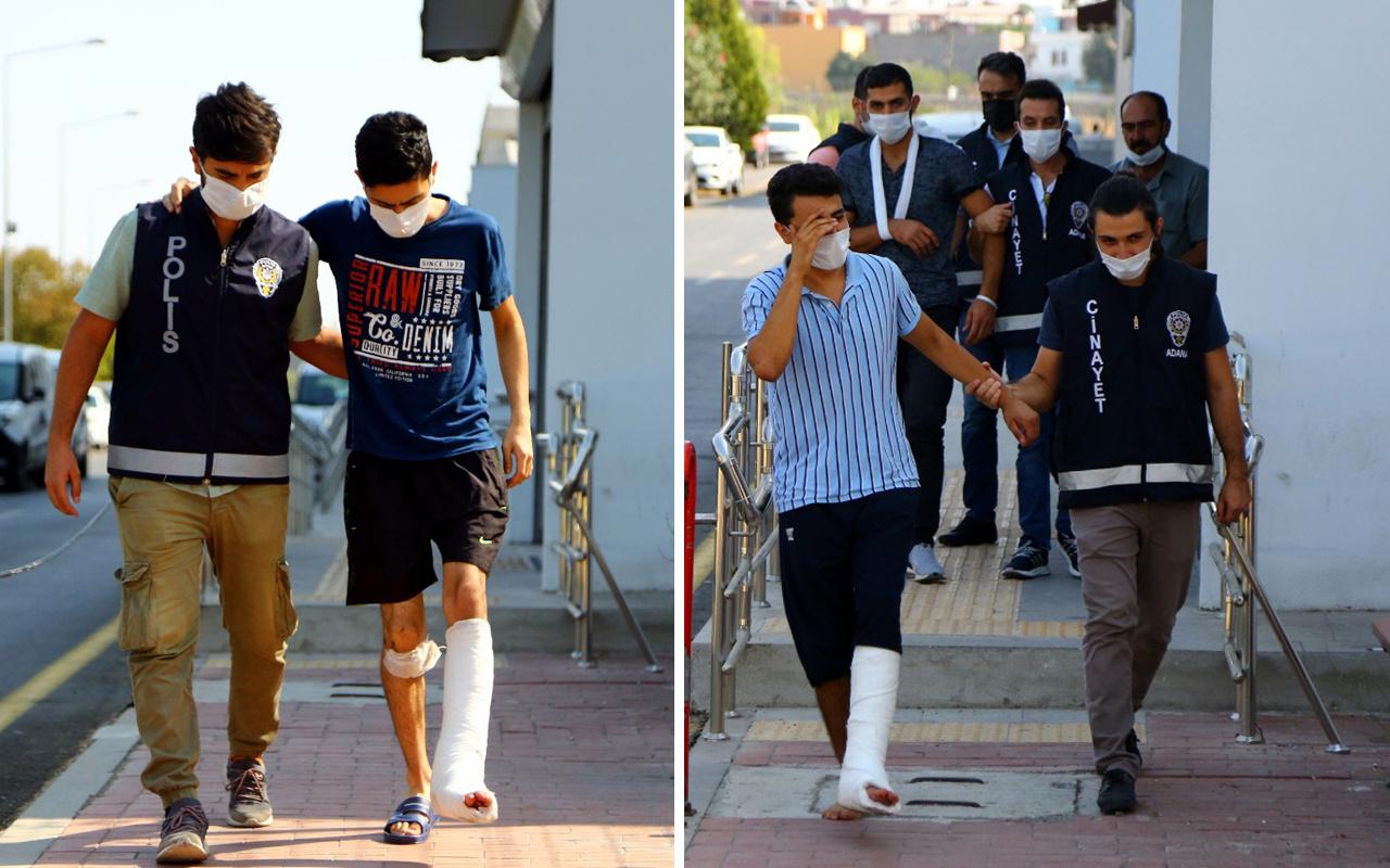 Adana'da çocuk kavgasında iki aile bireyleri birbirine girdi