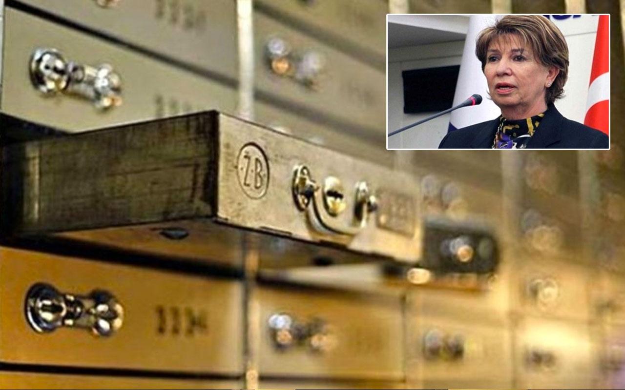 Eski Bakan Işılay Saygın'ın bankadaki kasası açıldı mini servet çıktı