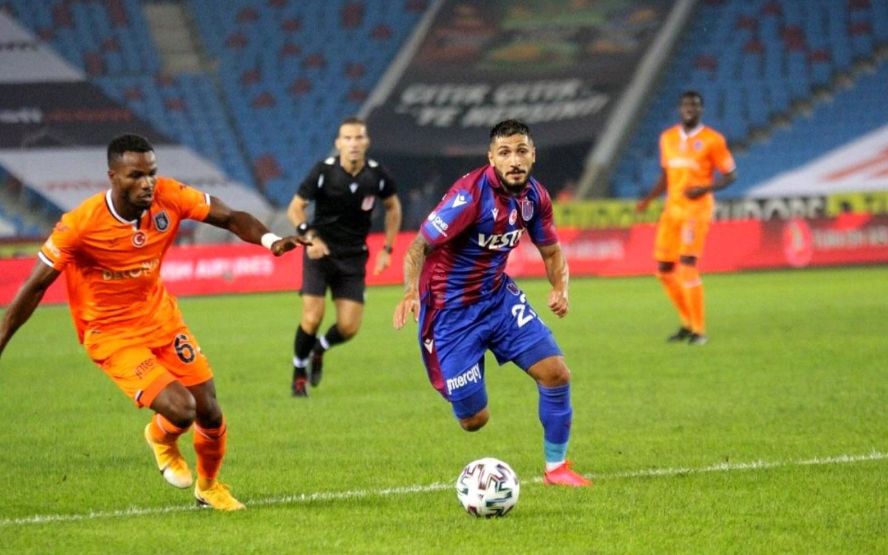 Trabzonspor Başakşehir maçı özet ve golleri