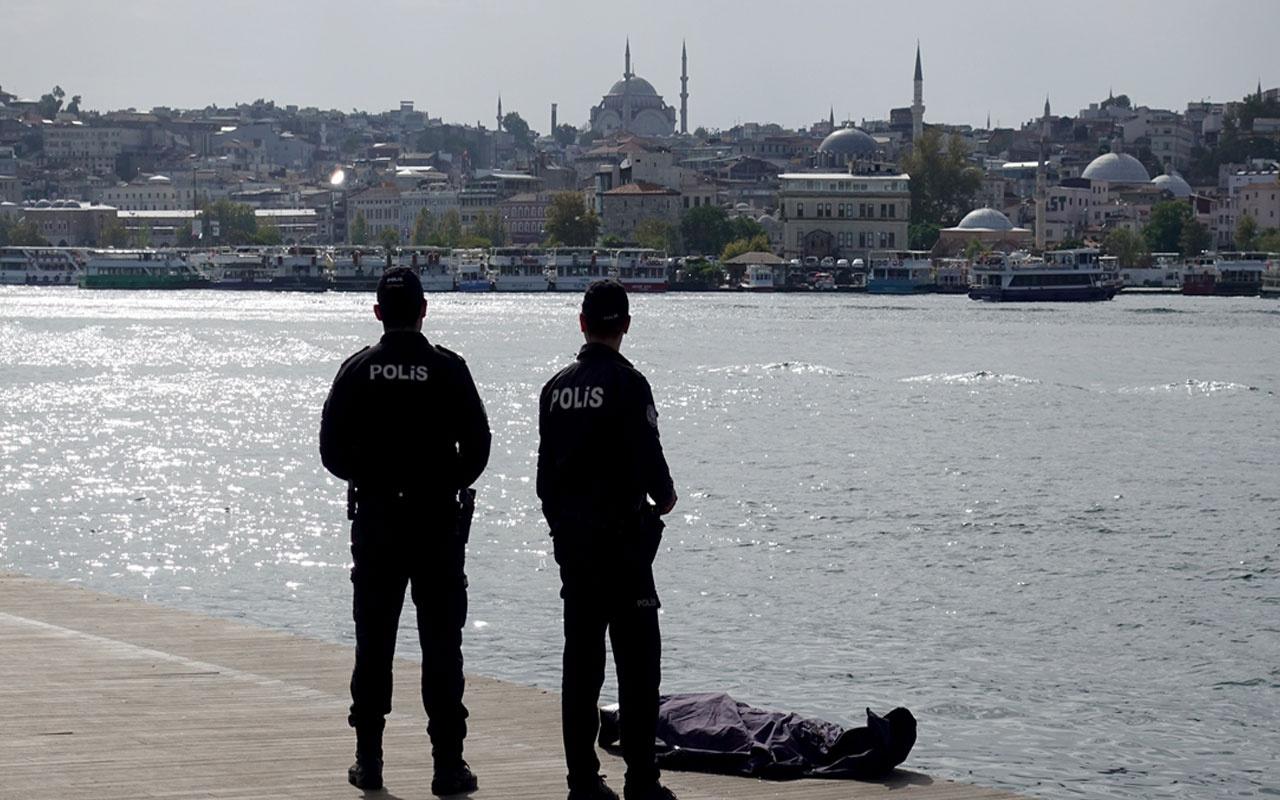 Kimliği belirlenemedi! Eminönü'nde denizde ceset bulundu