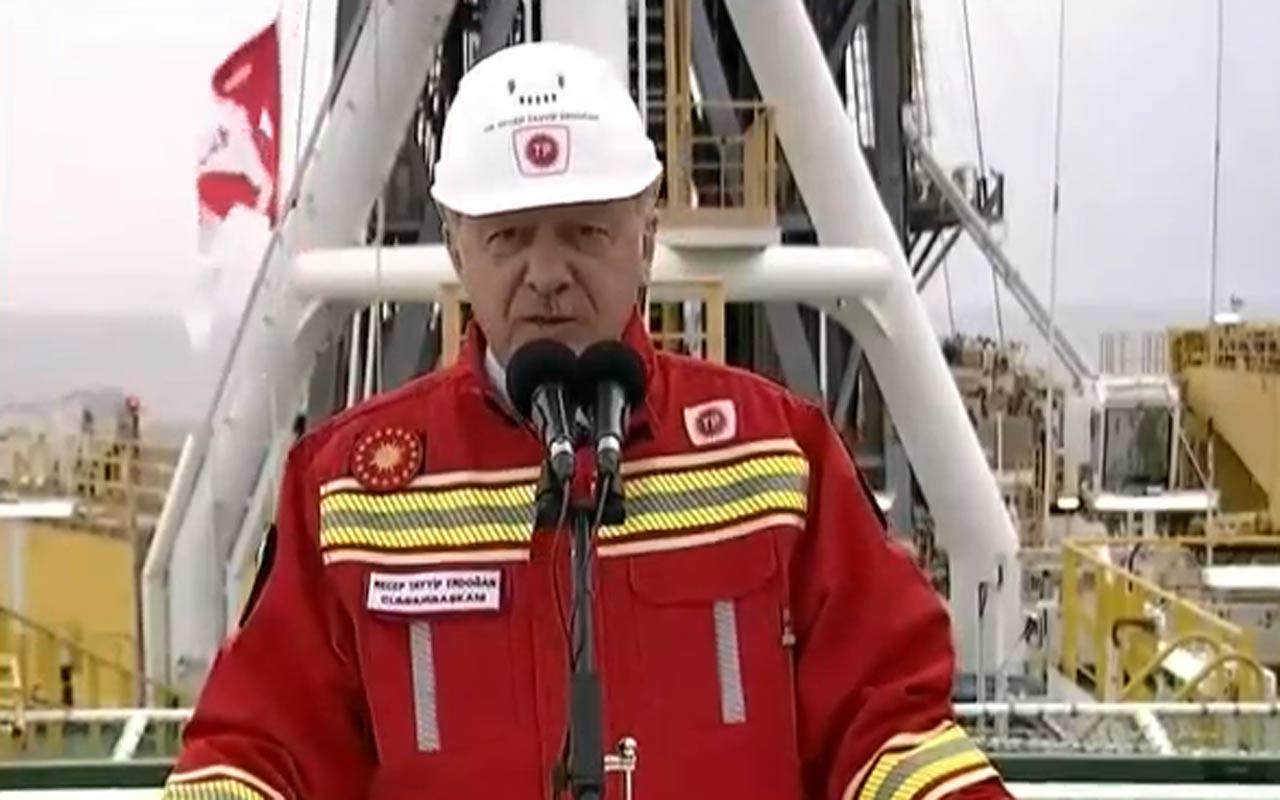 Cumhurbaşkanı Erdoğan Karadeniz'de yeni keşfedilen doğalgaz rezervini açıkladı