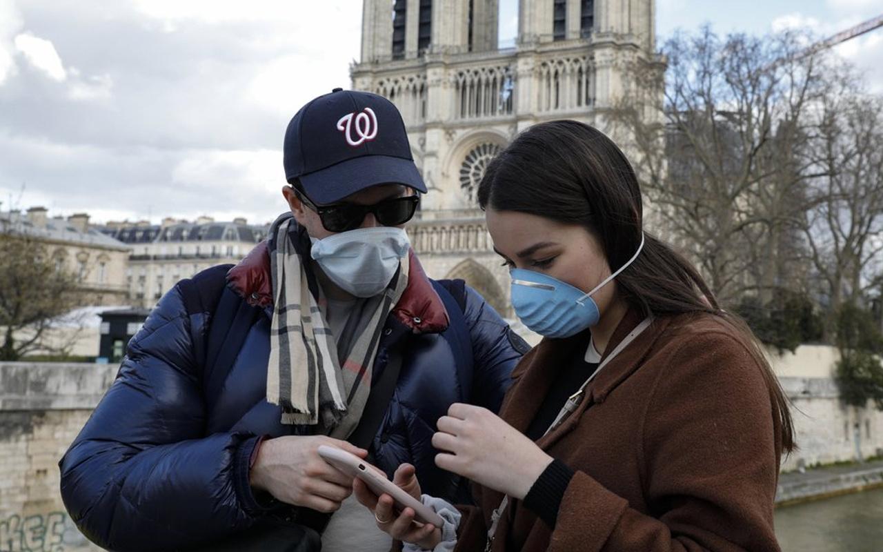 Fransa'da son 24 saatte ürkütücü koronavirüs vakası!