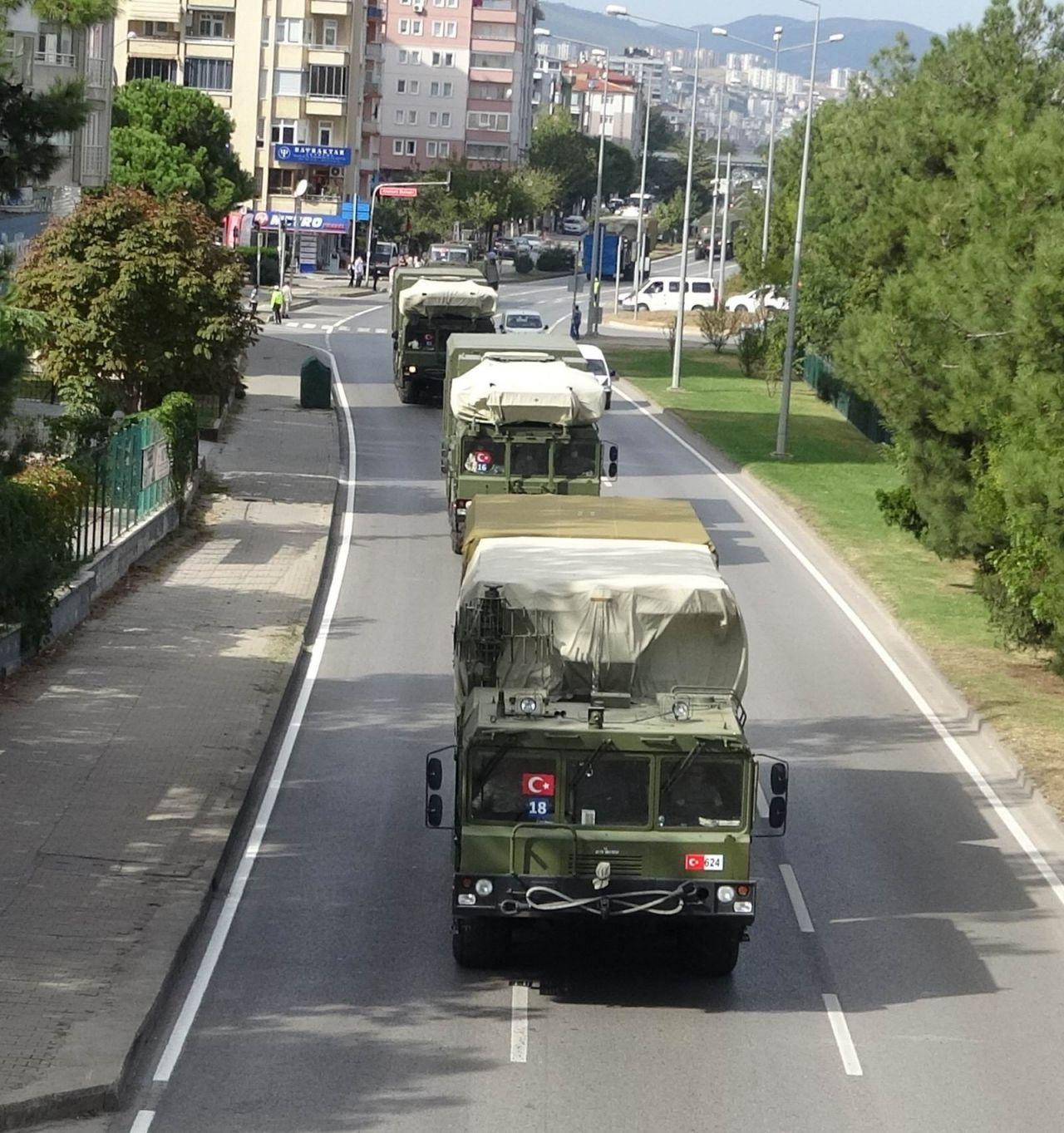 S-400'ler Sinop'ta test atışlarını başarı ile tamamlayıp Ankara'ya dönüşe geçti
