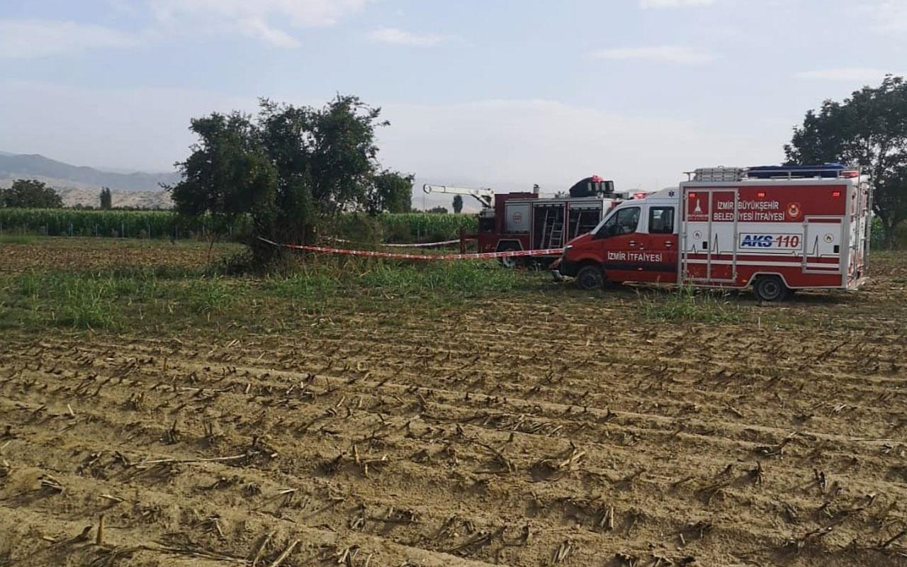 İzmir'de kaybolan kişinin cesedine su kuyusunda ulaşıldı