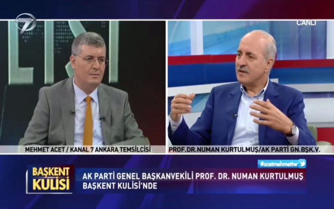AK Partili Numan Kurtulmuş'dan Ali Babacan'a sert tepki