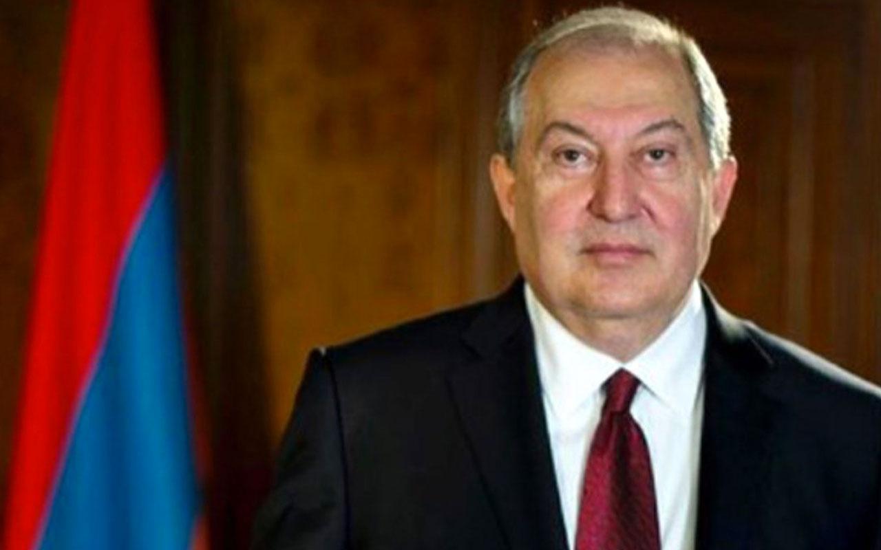 Ermenistan Cumhurbaşkanı Sarkisyan Türk SİHA'larını NATO'ya şikayet etti