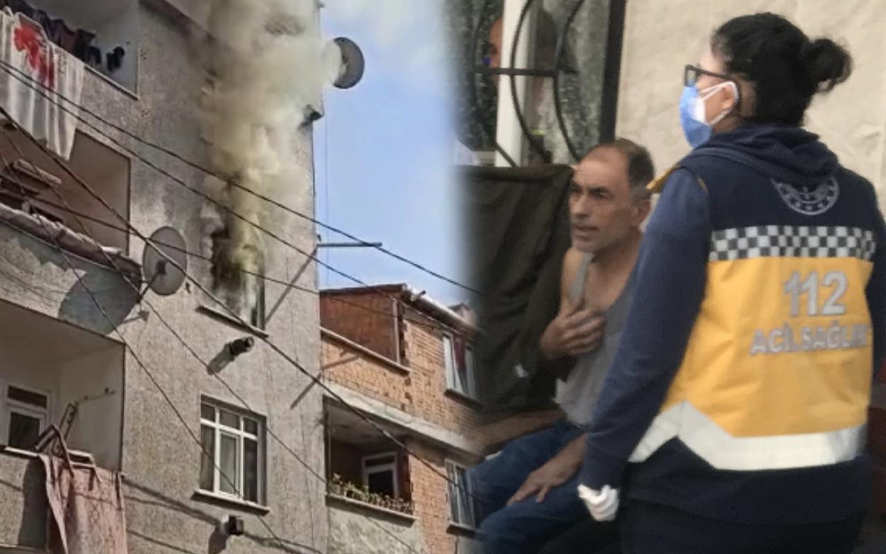 İstanbul'da prizde unutulan şarj aleti yüzünden yangın çıkardı! Hayatından olacaktı