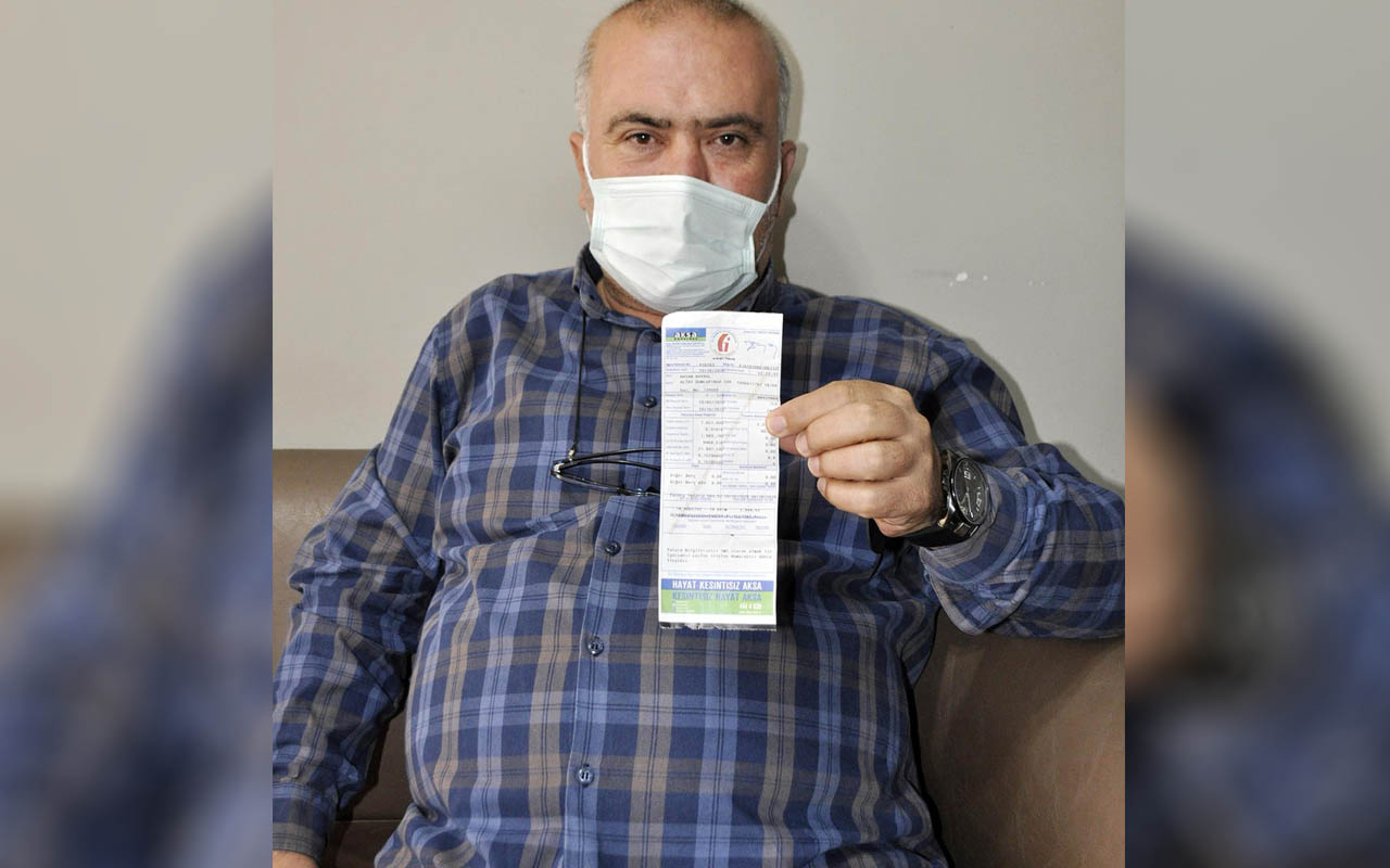 Korkuyla şoku aynı anda yaşadı Manisa'da doğalgaz faturası şaşkına çevirdi