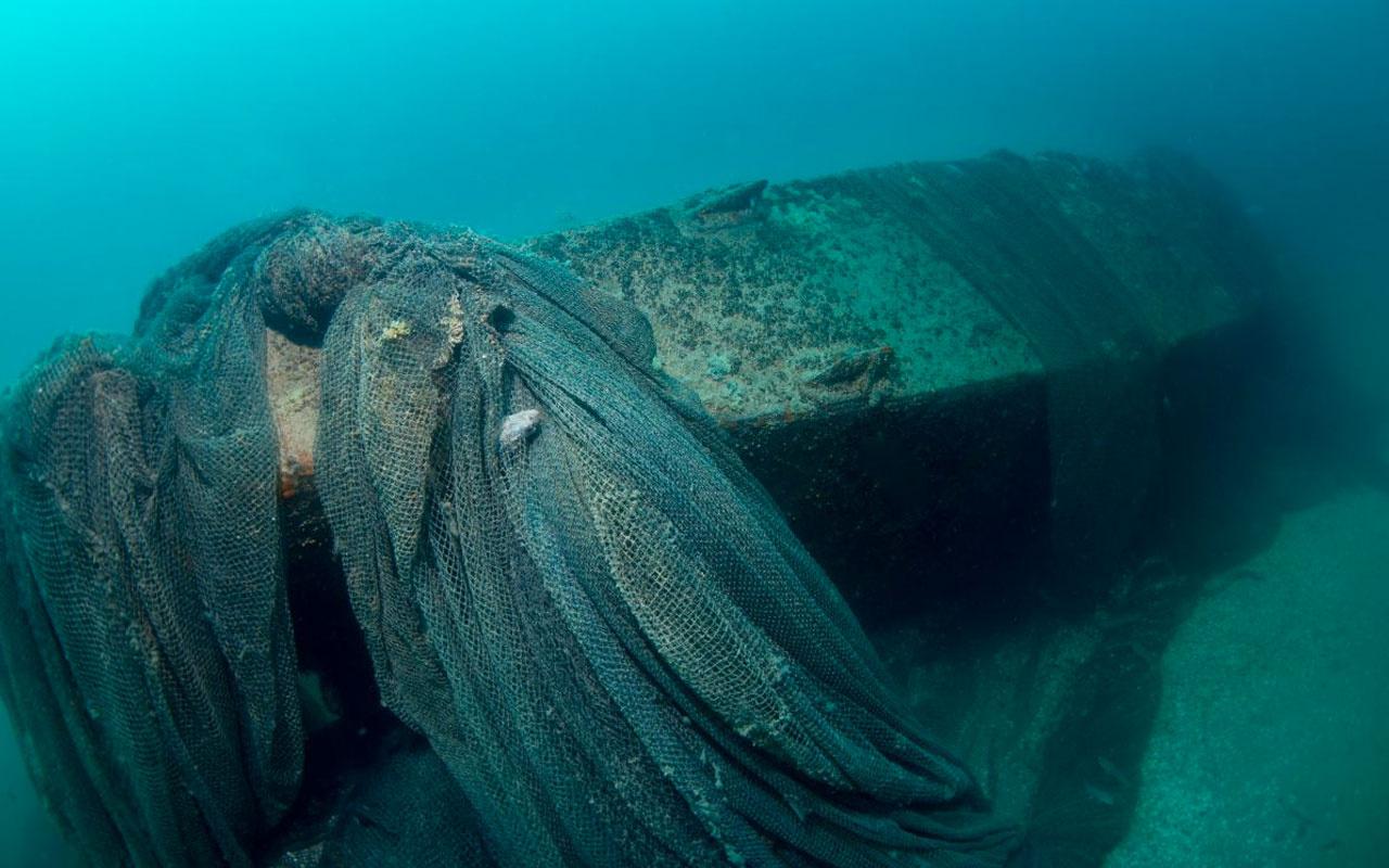 Hitler'in kayıp denizaltısı Sakarya'da görüldü 'Hayalet ağlar'a tutunuyor!