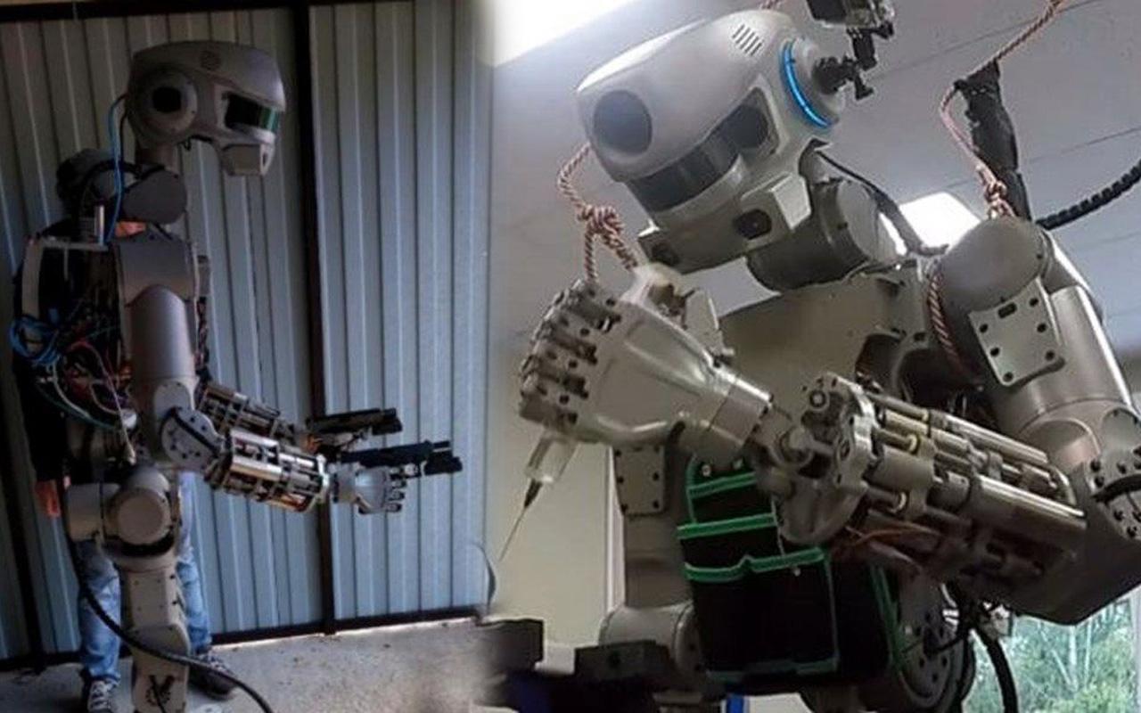 İnsansı robot Fedor'un Twitter hesabı kapatıldı silah taşıyıp araba kullanabiliyor!