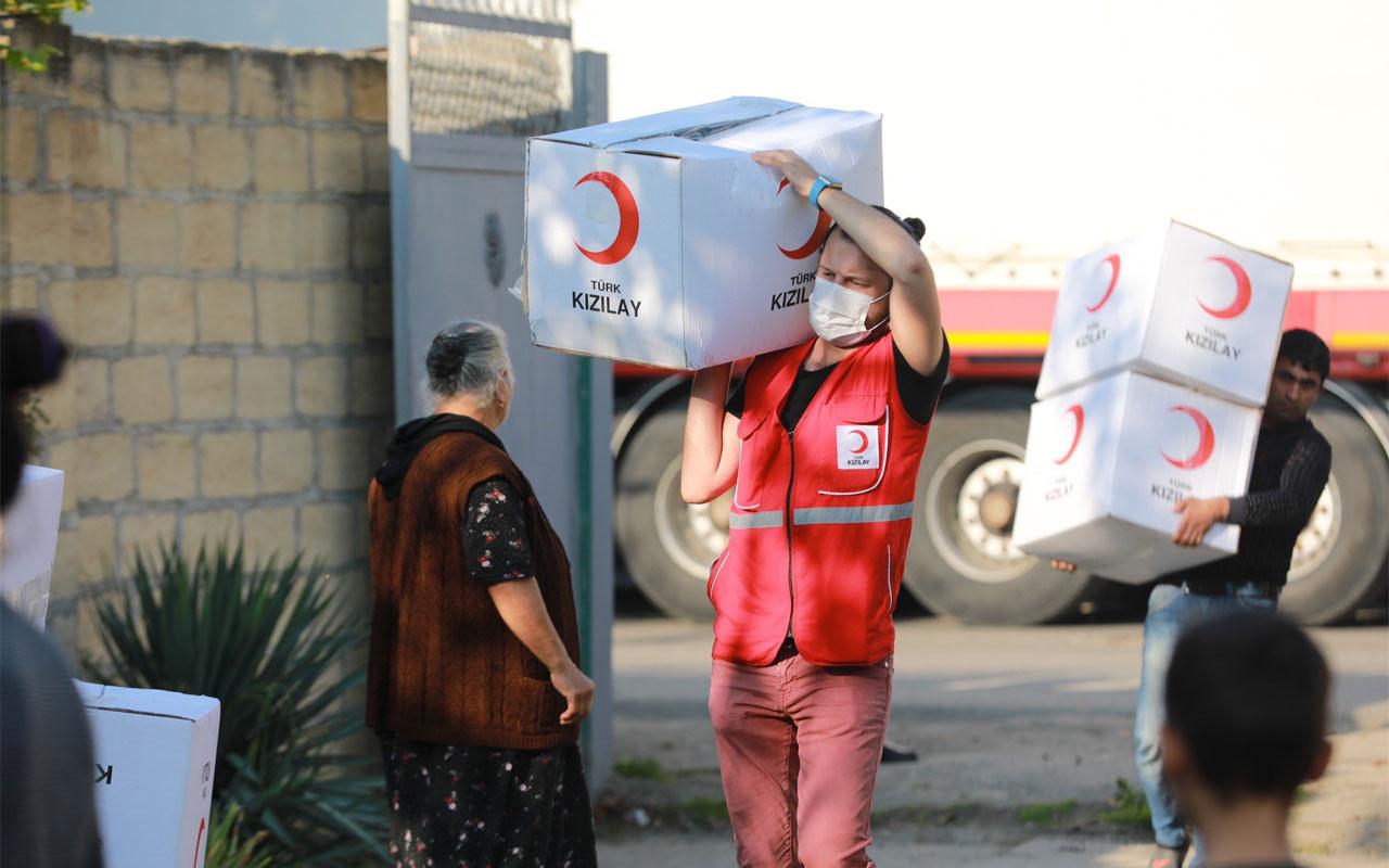 Türk Kızılay'dan Azerbaycan'a ikinci yardım konvoyu yola çıkıyor