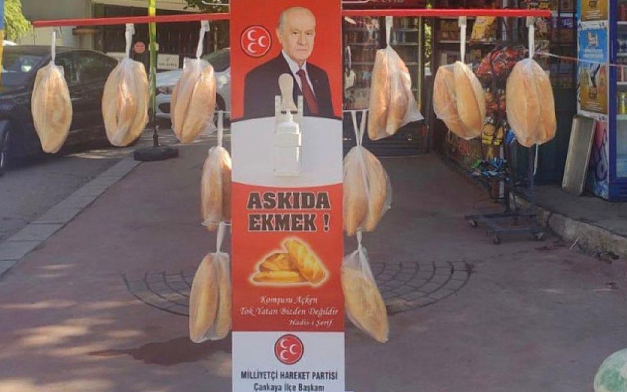MHP'li Semih Yalçın'dan 'askıda ekmek' kampanyasıyla alay edenlere ağır sözler